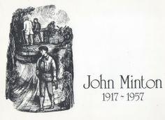 Catalogue for a retrospective of the artwork of John Minton, 1975 John Minton, English Artists, Illustrators, British, Artwork, Movie Posters, Image, Work Of Art, Auguste Rodin Artwork