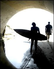 The tunnel under PCH