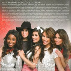 Caratula Interior Frontal de Fifth Harmony - Better Together (Ep)
