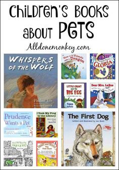 Children are naturally drawn to animals, whether in real life or in fiction. Here is a set of our favorite children's books about pets and animal friends. Animal Activities, Book Activities, Preschool Books, Kids Reading, Reading Lists, Reading Resources, Children's Books, Kid Books, Animal Books