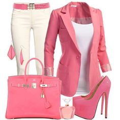 Pink Fashion Combination