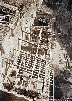 Ascoli com'era: lavori di conservazione e recupero della chiesa di Santa Maria Intervineas - Arch. Luigi Leporini (1952)