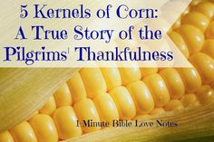 This true story about America's Pilgrim heritage really explains the purpose behind our Thanksgiving holiday.