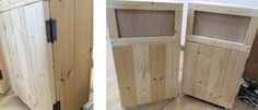 おしゃれなカフェ風ゴミ箱の作り方。ゴミを見せないインテリアダストボックス。|LIMIA (リミア) Diy And Crafts, Woodworking, Room, Furniture, Home Decor, Bedroom, Decoration Home, Room Decor, Rooms