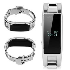 Black Friday Deal Excelvan Fashion Womens MTK6260 Bluetooth Phone Companion Smart Bracelet Watches Sync Call SMS Music For IOS iphone (Part Function) Android Samsung HTC LG Sony ZTE Mi Sharp Huawei Oppo Etc(Anti-lost,Remote Capture,Fitness Tracker,Alarm Clock) from Excelvan Cyber Monday #tecnologia #huawei #blogtecnologia #tablet #bq #edison #tabletoferta #tabletbarata