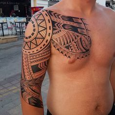 awesome 50 Hypnotizing Maori Tattoo Designs - Acsient and Sacred Symbols Check more at http://stylemann.com/best-maori-tattoo-designs/