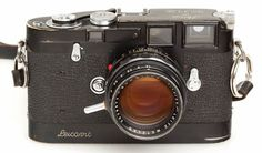 """The Leica M3D seen above fetched a staggering €1.68 million, or roughly $2.18 million, becoming """"the most expensive camera from a serial production ever."""""""