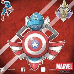 Pokemon Funny, New Pokemon, Pokemon Fusion, Marvel Vs, Captain Marvel, Marvel Comics, Captain American, Avengers Infinity War, Change