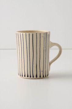 stripe mug. #mug