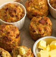 These Apple & Bacon Daybreak Muffins are a great snack to pack in your lunchtin Bacon Breakfast, Breakfast Muffins, Breakfast Recipes, Breakfast Ideas, Bacon Muffins, Cake Flour, Muffin Recipes, Other Recipes