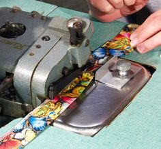 Sew Your Fabric Into a Tube