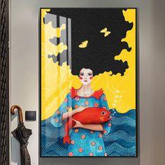 Abstract Watercolor, Abstract Wall Art, Canvas Wall Art, Wall Art Prints, Art Painting Gallery, Art Paintings, Nordic Art, Wall Art Pictures, Pop Art