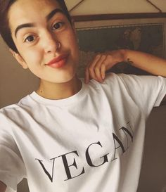 """437 Likes, 8 Comments - Raw Apparel (@rawapparelco) on Instagram: """"YAS! Thank you @cruelty.freefoodie for repping our #Vegan tee! 🙌🏾😍 Definitely check out her account…"""""""