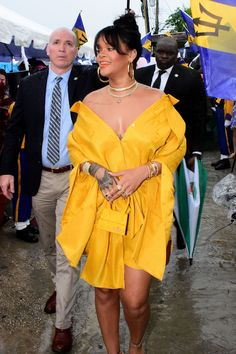 Pinterest ~ kaelimariee // Kaeli Marie  Instagram ~ kaelimariee Rihanna at the opening ceremony of Rihanna Drive in Barbados