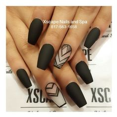 Negative space nails ❤ liked on Polyvore featuring beauty products, nail care, nail treatments and nails
