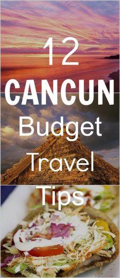 aquí son algunos consejos sobre Presupuesto Cancún.     siga estos y obtendrá ideas sobre dónde ir y qué hacer.