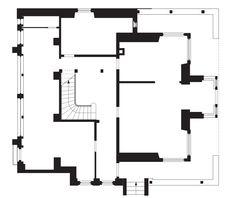 Le Corbusier, Villa Fallet, 1907, ground floor