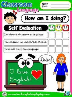 Classroom Language - Self Evaluation