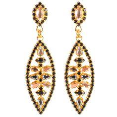 Swarovski Deco Earrings by LK Designs