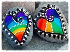 Resultado de imagen para piedras pintadas a mano