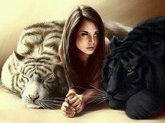 Kelsey and tigers