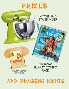 """Share a family recipe and Win! Moana & BakeSpace's """"Flavors of your Heritage"""" Recipe Contest"""