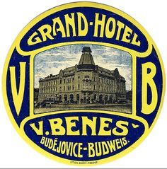Grand Hotel Budejovice ~ Czech Republic