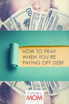 to Pray When You're Battling to Pay Off Debt How to pay off debt - what to pray for.How to pay off debt - what to pray for. Pay Debt, Debt Payoff, Ways To Save Money, Money Saving Tips, Money Savers, Prayer For Finances, Financial Prayers, Funny Marriage Advice, Debt Free