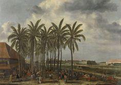 The Castle of Batavia, Andries Beeckman, 1661