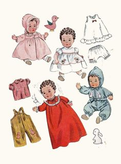 "Baby 1st Step Goody Two Shoes 20/"" Doll Clothes PATTERN 4169 Dress Bloomers"