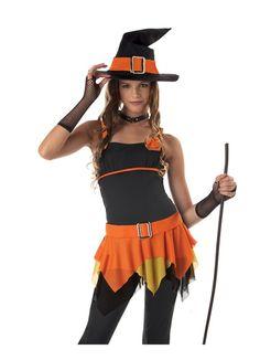 Sassy Witch Teen Girls Halloween Costume