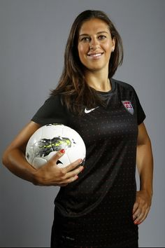 Soccer player Carli Lloyd poses for a portrait during the 2012 U.S. Olympic Team Media Summit in Dallas, Texas May 15, 2012. Scripps Howard News Service/Michael Zamora