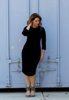 This is THE little black dress? Classic, perfectly cut, and makes you feel like a million bucks. It's the outfit every woman needs in their closet!