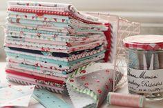 tasha noel fabric stack on amy's blog, nana company.  lovely!