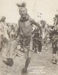 Sioux warrior, Little Chief. South Dakota. 1905.