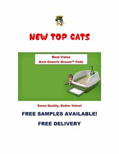 Top Cats Litter Box Pads (120 pads) *** You can find more details by visiting the image link. (This is an affiliate link and I receive a commission for the sales)