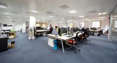 Open plan, 0 - 10,000 sq. ft. 6 weeks, London W1, another design and fit out project by www.oktra.co.uk