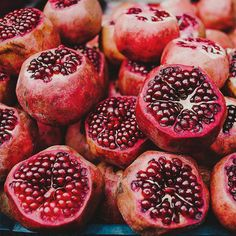 Ruby red pomegranate
