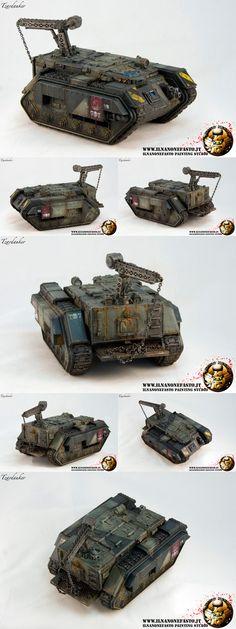 Forge World Chimera Trojan Imperial Guard - www.ilnanonefasto.it
