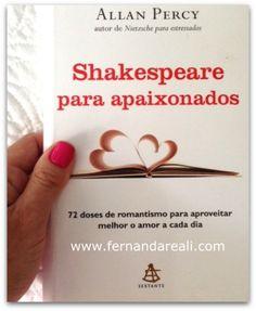 livro shakespeare para apaixonados #Love #books