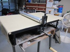 Clay Slab Roller Heavy Duty Portable Slab by PotteryBySaleek, $400 plus shipping for a total of $450.