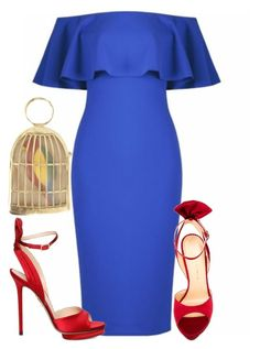 Untitled #5219 by stylistbyair on Polyvore featuring polyvore fashion style Charlotte Olympia clothing