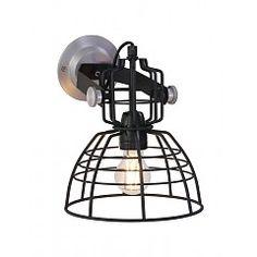 Anne Lighting Wandlamp Mark III Zwart