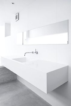 white minimalistic bathroom