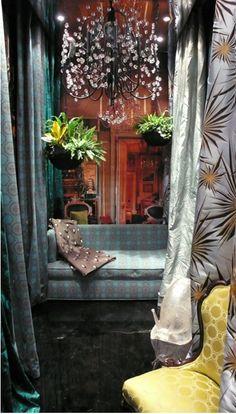 Tony Duquette For Jim Thompson Fabric  ˛ • ° ˛˚˛ *•。★* 。˚ ˚