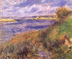Banks of the Seine at Champrosay - Pierre-Auguste Renoir