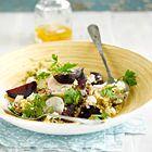 Quinoa met daikon en geroosterde bietjes - recept - okoko recepten