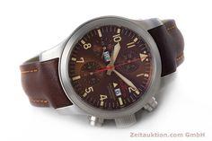 Fortis B-42 Chronograph Stahl Automatik Kal. ETA 7750 Ref. 656.10.141