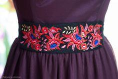 Brau de catifea brodat multicolor Belt, Fashion, Belts, Moda, Fashion Styles, Fashion Illustrations