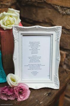 Poesia Duca Tambasco no quadro moldura